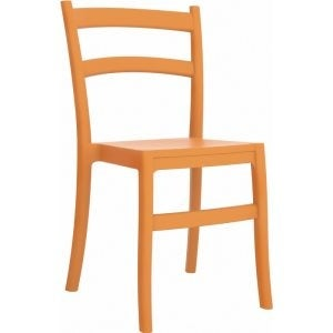 Compamia Tiffany Outdoor Dining Chair Set of 2 - Orange