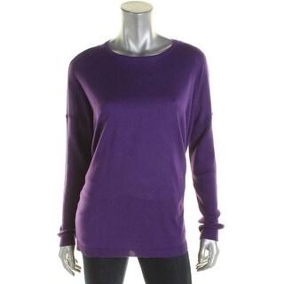 Lauren Ralph Lauren Womens Crewneck Sweater Silk Modal|https://ak1.ostkcdn.com/images/products/is/images/direct/47818eb087f2b87303219d741e90f7cd0872cdc2/Lauren-Ralph-Lauren-Womens-Crewneck-Sweater-Silk-Modal.jpg?_ostk_perf_=percv&impolicy=medium