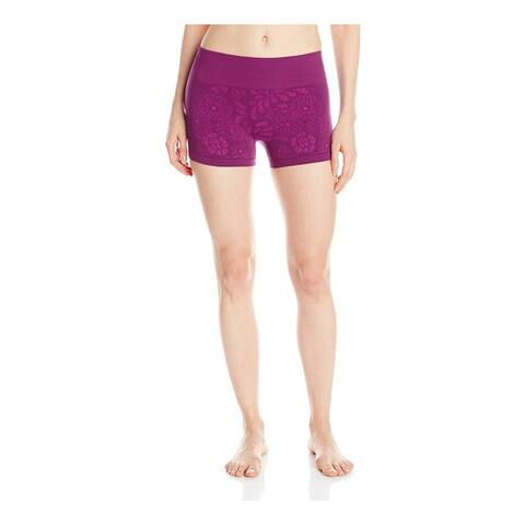 Roxy Womens Stunner Seamless Athletic Workout Shorts