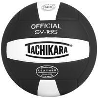Tachikara SV18S Composite Leather Volleyball (Black/White)