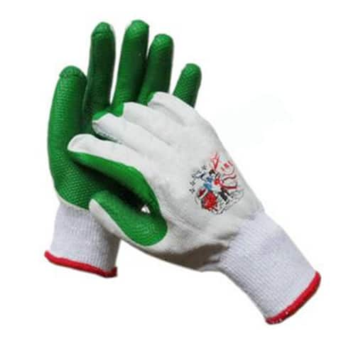 Work Universal Protection Glue Thick Gloves - Green