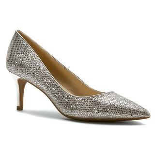 Silver Mid Heels h2HparvM
