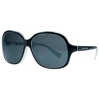 Michael Kors M2743/S PALO ALTO 017 Black Square Sunglasses - 59-14-135