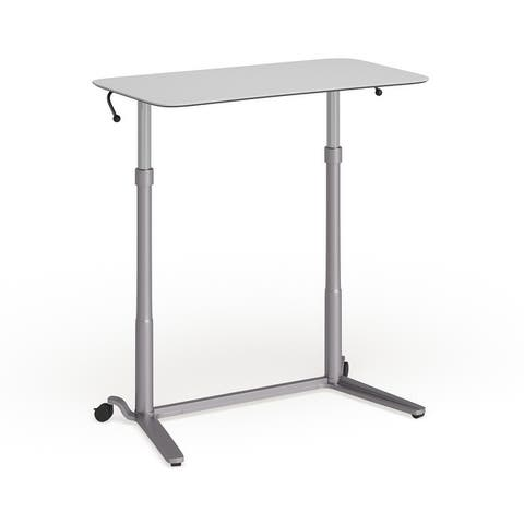 Sit-Down, Stand-Up Ergonomic Computer Desk - Standing Desk