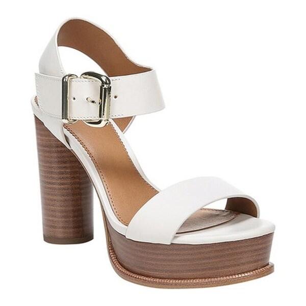 ef2e8a98ee3 Sarto by Franco Sarto Women  x27 s Katerina Ankle Strap Sandal Putty  Vachetta Leather