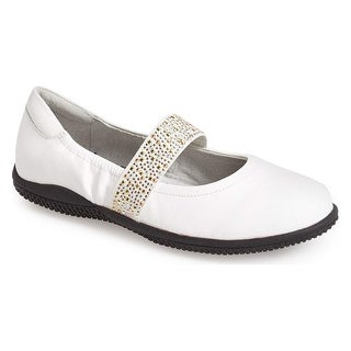 Softwalk NEW White Shoes High Point Size 7N Ballet Flats Leather