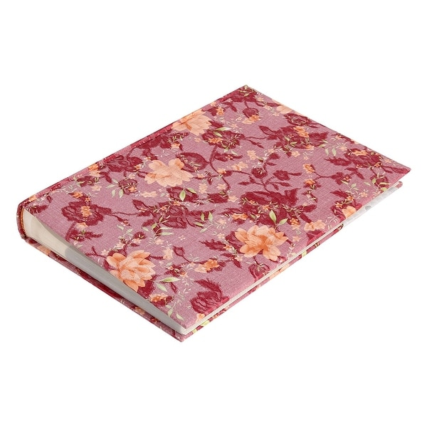 Household PVC Paper Pocket Memo Memory Photo Album Funchsia 6inches