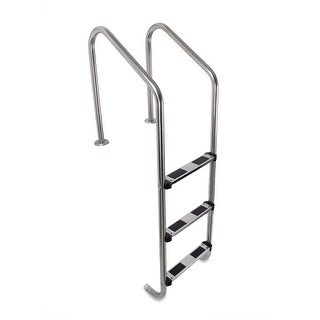Shop Blue Wave Standard Stainless Steel In Pool Ladder For