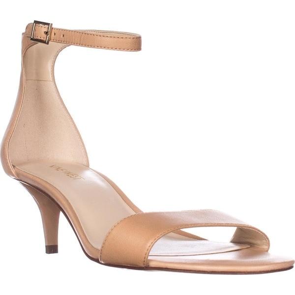Nine West Leisa Ankle Strap Sandals, Natural