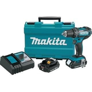 """Makita 18V Compact Lithium-Ion Cordless 1/2"""" Driver-Drill Kit"""