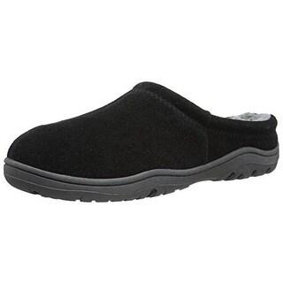 Rockport Mens Suede Indoor/Outdoor Clog Slippers - 9.5-10