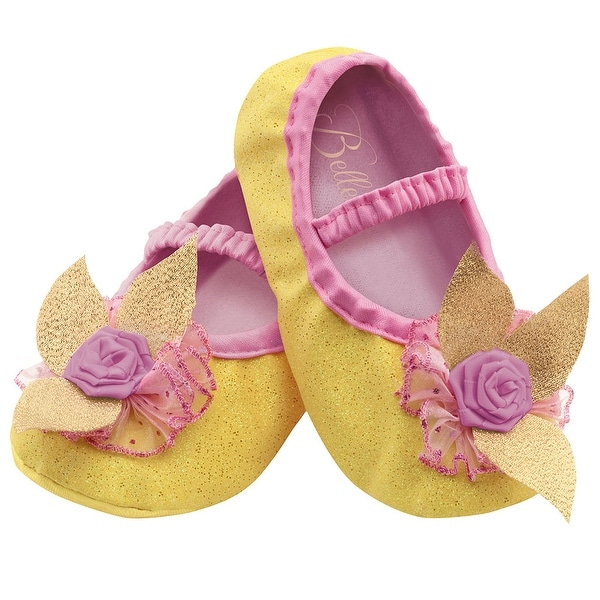 Toddler Girls Belle Costume Slippers - up to size 6