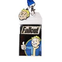 Fallout Blue Vault Boy Lanyard
