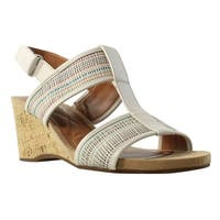 Easy Spirit Womens 25023979 OffWhite/OffWhite/MultiSynthetic Ankle Strap