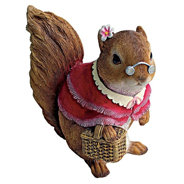 Design Toscano Grandmother and Grandfather Squirrel Statues: Grandmother