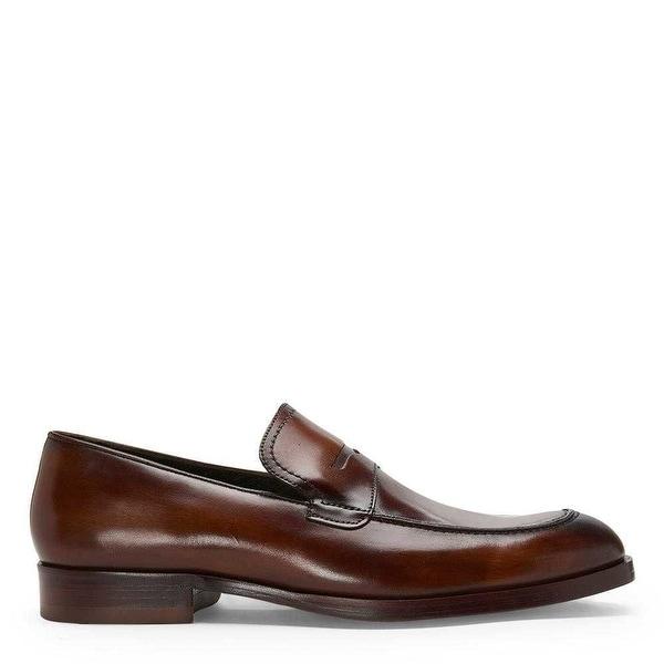 Donald J Pliner Mens ZYLON Leather Slip On Casual Oxfords - 10