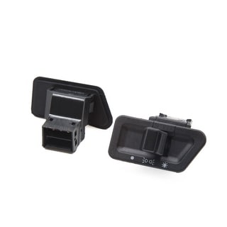 2pcs Black 6 Terminals 12 24V Plastic Motorcycle Headlight Switch For GY6125
