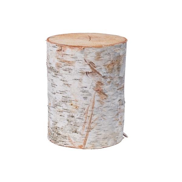 "Birch Wood Stand - 8""High x 6""-8"" Diameter, Quantity: 1 pc"