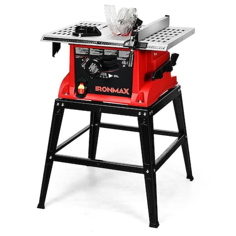 10â Aluminum Tabletop Table Saw Electric Cutting Machine - 26 x 19x35 (L x W x H)