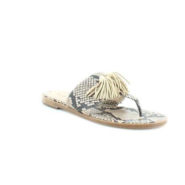 Via Spiga Terrin Women's Sandals Natural Ecru - 6.5