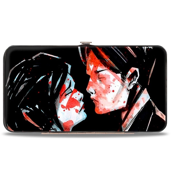 Three Cheers For Sweet Revenge Black + My Chemical Romance Hinged Wallet One Size - One Size Fits most