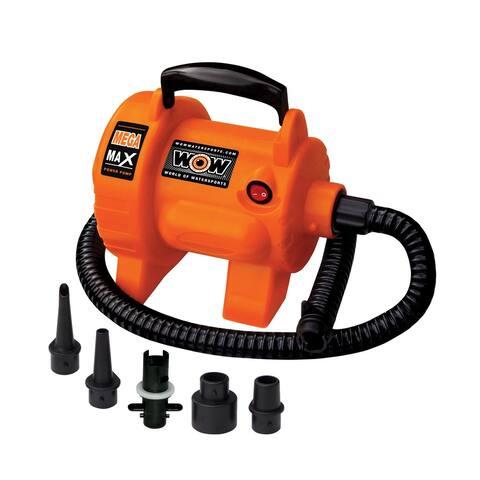WOW Sports Mega Max Pump 3.0 PSI Pump (16-4020) - Orange