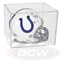 BCW BallQube UV Protected Acrylic Mini Helmet Display Case