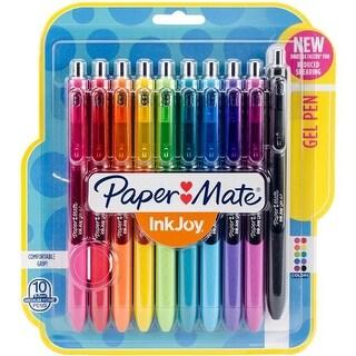 Sanford 0.7 mm InkJoy Gel Pens, Assorted Colors - Pack of 10