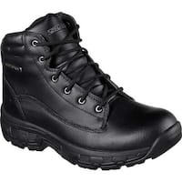 Skechers Men's Relaxed Fit Morson Sinatro Hiking Boot Black