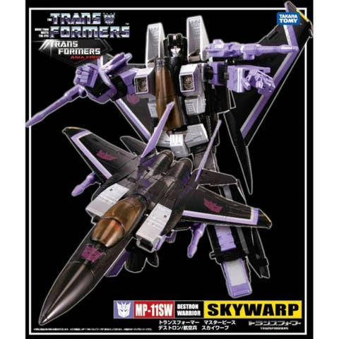 Transformer Masterpiece Action Figure: MP-11SW Skywarp - Multi