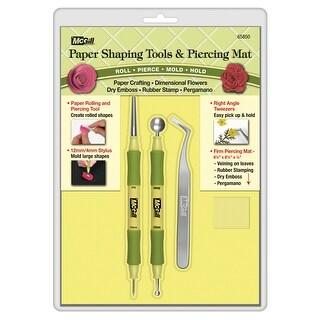 Paper Blossom Tool Kit 4/Pkg-Roller/Piercer