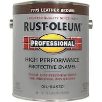 Rust-Oleum Voc Lthr Brn Pro Enamel 215967 Unit: GAL