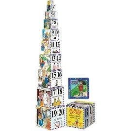 WJ Fantasy Inc Mother Goose Building Blocks & Board Book Set