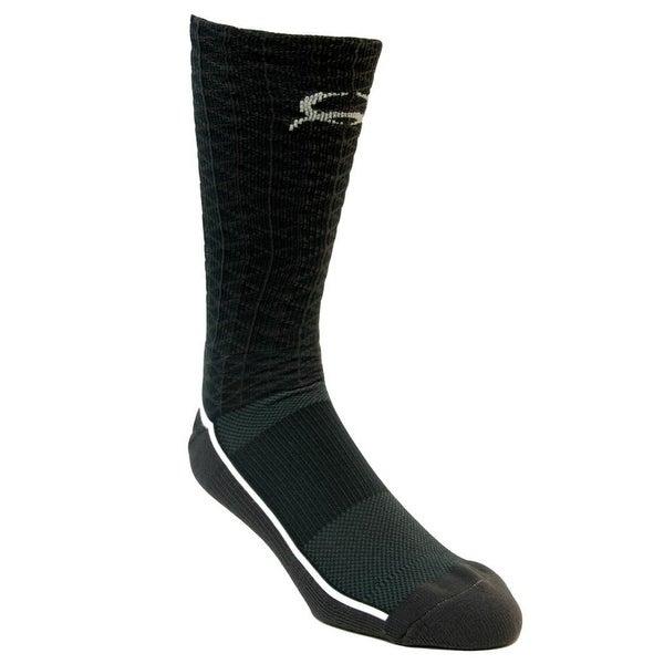 Cinch Western Socks Mens Logo Reinforced Cushion Charcoal