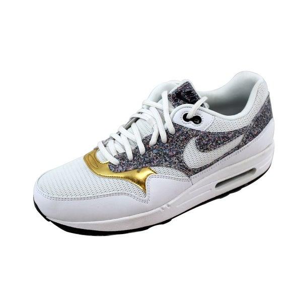 Nike Women's Air Max 1 SE White/White-Black 881101-100