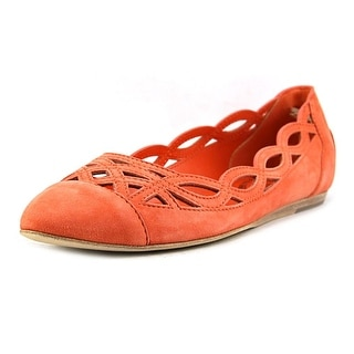 Tod's Ballerina Cuoio Deco Women Round Toe Leather Pink Flats