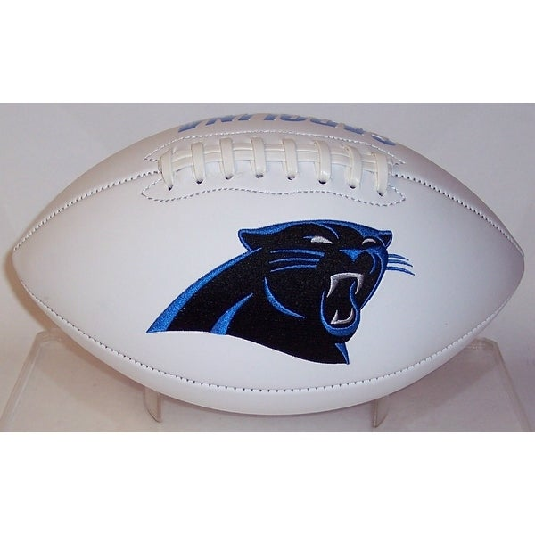 "Carolina Panthers Embroidered Logo ""Signature Series"" Football"
