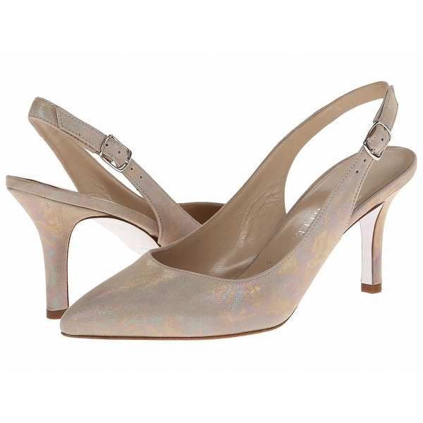 Ron White NEW Beige Nude Shoes Size 6M Camille Slingbacks Heels