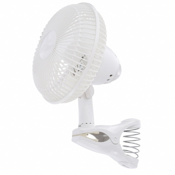 Lasko 2004W 6 In. Clip Fan - White