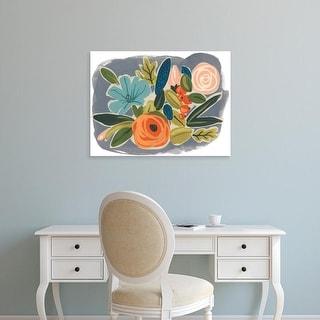 Easy Art Prints June Erica Vess's 'Bright Botany I' Premium Canvas Art