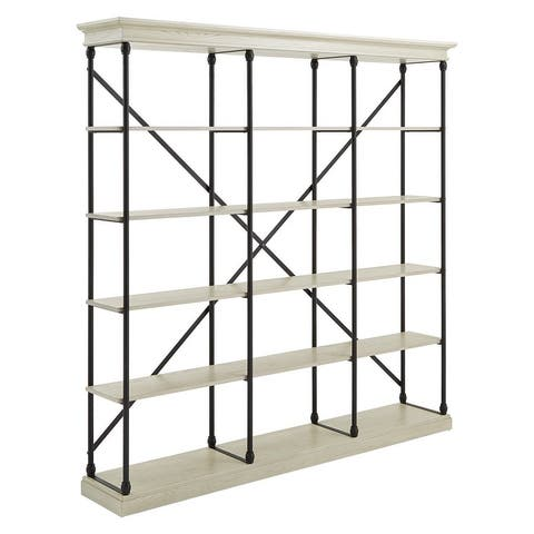 Barnstone Cornice Triple Shelving Bookcase by iNSPIRE Q Artisan - Large