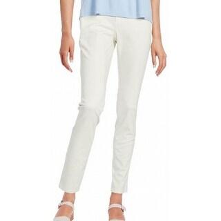 Eileen Fisher NEW Bone White Women's Size 2 Skinny Stretch Pants