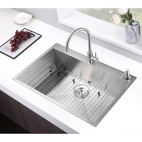 Moda MD-NF3322 Stainless Steel Sink - 33 IN×22 IN×10 IN