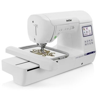 "Brother SE1900 Sewing and Embroidery Machine w/ 5"" x 7"" Hoop + Zigzag Foot + Monogramming Foot + Overcasting Foot + More"