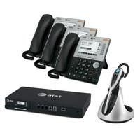 ATT SB35010 Plus 3x SB35031 Plus 1x TL7800 ATT Syn 248 SB35010 With 3 Multi-Line 5 inches LCD Screen Desksets plus Cordless