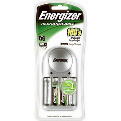 Energizer CHVCWB2 Rechargeable AA Battery Charger