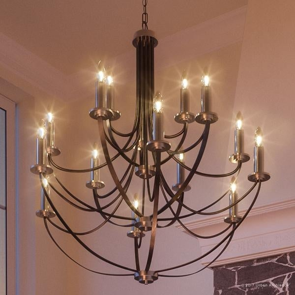 Luxury mid century modern chandelier 43h x 41w with colonial luxury mid century modern chandelier 43h x 41w with aloadofball Images