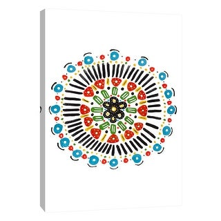 "PTM Images 9-108458  PTM Canvas Collection 10"" x 8"" - ""Tribal Instinct 5"" Giclee Abstract Art Print on Canvas"