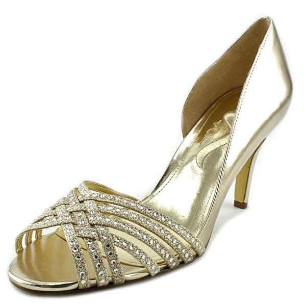 Nina Vinesha Women Peep-Toe Synthetic Heels