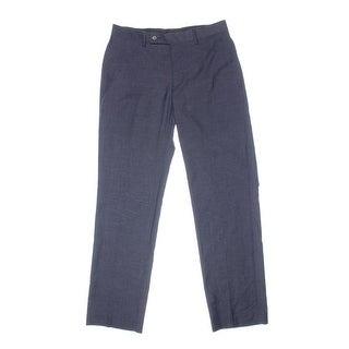 Calvin Klein Mens Slim Fit Pattern Dress Pants